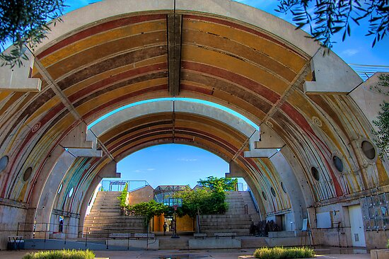 The Vaults of Arcosanti by njordphoto