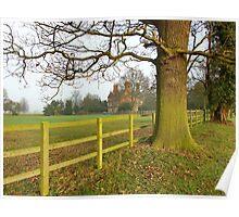 Stoke Manor, Hurleston, Nr Nantwich, Cheshire. Poster