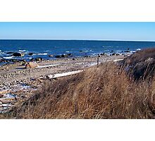 A Montauk Brisk Winter Morning  Photographic Print