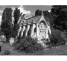 Nicols Mausoleum Photographic Print