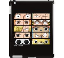 One Piece Faces iPad Case/Skin
