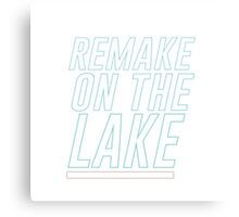 Remake on the Lake Canvas Print