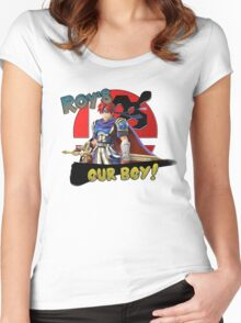 Roy's Our Boy! Women's Fitted Scoop T-Shirt