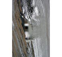 Sheet Hole Photographic Print