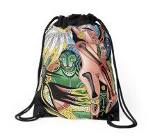gaia rise Drawstring Bag