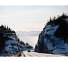 The Road to Nipigon Photographic Print