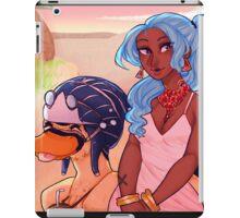 vivi and carue iPad Case/Skin