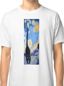 Cat, Moon 'N' Stars Classic T-Shirt
