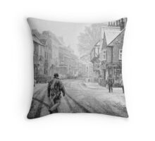Between Dante's worlds Throw Pillow
