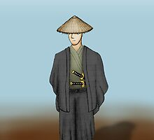 Drawn & Remastered - Samurai by Abno