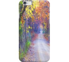 On A Lovely Fall Day iPhone Case/Skin