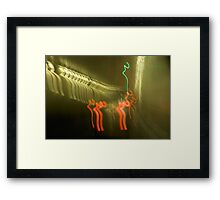 tunnel ride II Framed Print