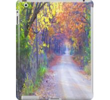 On A Lovely Fall Day iPad Case/Skin