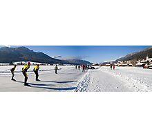 Winter Sports Photographic Print