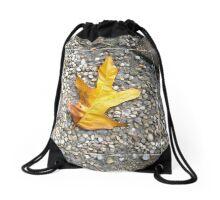 gold oak Drawstring Bag