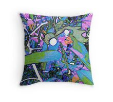 Gumleaves and Gumnuts  Throw Pillow