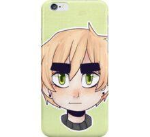 grumpy englishman iPhone Case/Skin