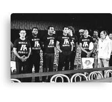 Thrilla in Manila. Gorilla T Shirt. Canvas Print