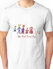 Easter Bunny Family Unisex T-Shirt