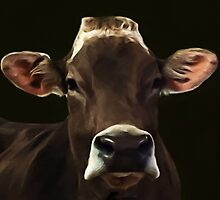 Brown Cow by Lynn A Marie