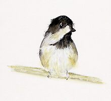 My Little Chickadee by Angela  Burman
