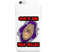 Get In Mah Belleh Purple iPhone Case/Skin
