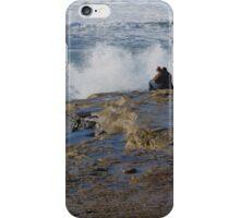 They Didn't Get Wet ~ Sunset Cliffs, California iPhone Case/Skin