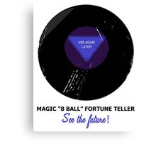 Magic 8 Ball Canvas Print