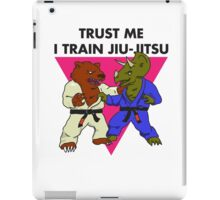 Trust Me I Train Jiu-Jitsu iPad Case/Skin