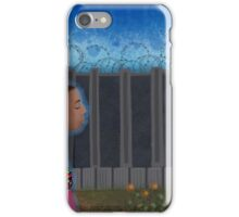 I wish I was dreaming and when I woke up, the fence wasn't here iPhone Case/Skin