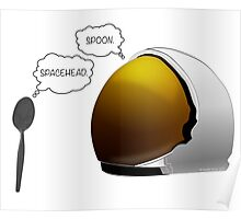 Spoon. Spacehead. Poster