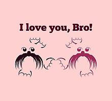 I love you, Bro | Seals by piedaydesigns