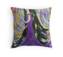At One With The Wind Throw Pillow