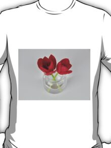 Red tulip still life T-Shirt