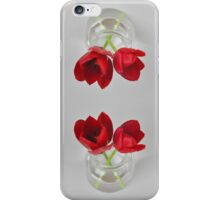 Red tulip still life iPhone Case/Skin