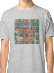 Roller Coaster Tycoon Icons Classic T-Shirt