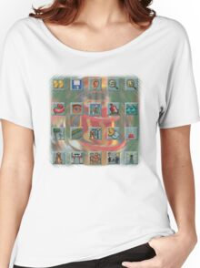 Roller Coaster Tycoon Icons Women's Relaxed Fit T-Shirt