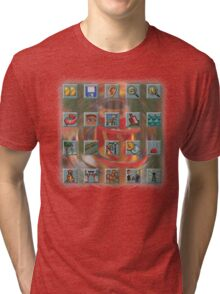 Roller Coaster Tycoon Icons Tri-blend T-Shirt