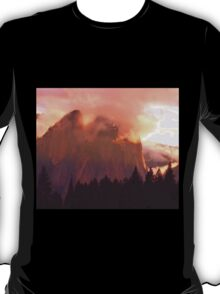 CATHEDRAL ROCKS ON FIRE T-Shirt