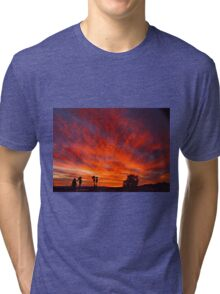 March Sunset Tri-blend T-Shirt