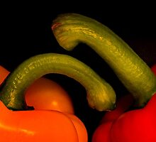 Peppers by Mike  Sherman
