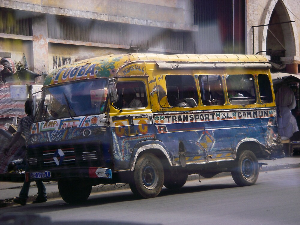African bus by kevomanno