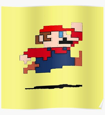 """""""It's a-me, Mario!""""  Poster"""