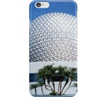 Retro Epcot Ball as seen in 1982 iPhone Case/Skin