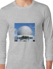 Retro Epcot Ball as seen in 1982 Long Sleeve T-Shirt