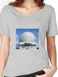 Retro Epcot Ball as seen in 1982 Women's Relaxed Fit T-Shirt