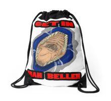 Get In Mah Belleh Blue Drawstring Bag