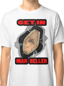 Get In Mah Belleh Black Classic T-Shirt