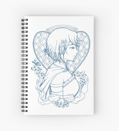 The One Who Fought for Love Spiral Notebook