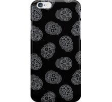 Sugar Skulls Pattern // Goth Punk Skulls Pattern Mexican Sugar Skulls iPhone Case/Skin